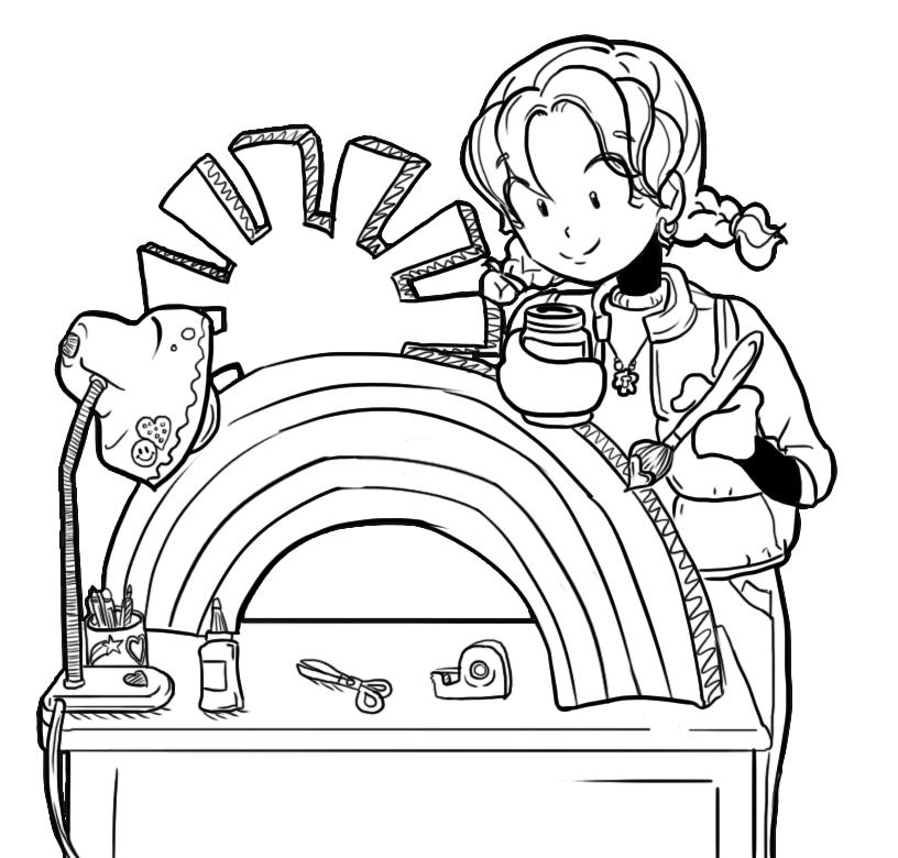 dork diaries 8 coloring pages - photo#2