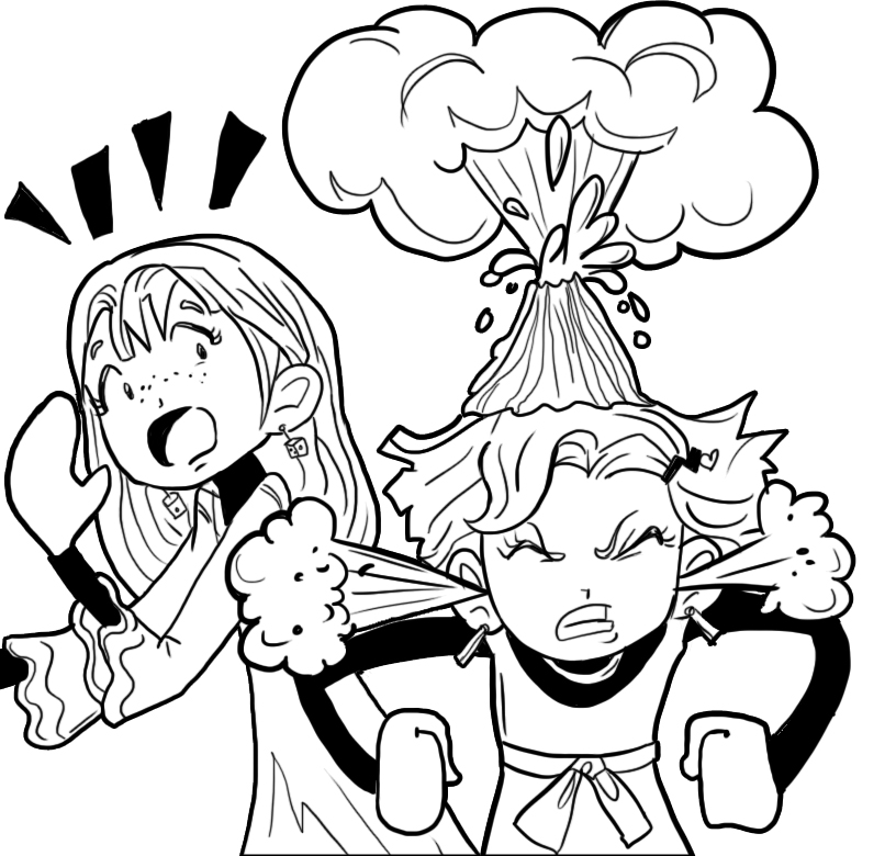 HOW TO DEAL WITH A FRIEND WHO IS ALWAYS ANGRY – Dork Diaries