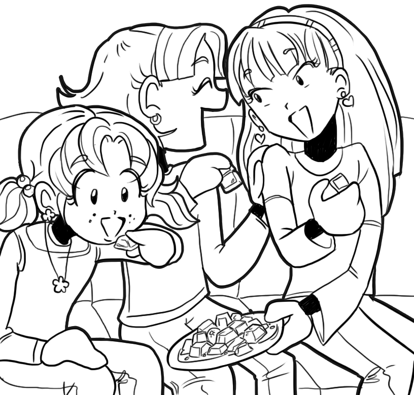 dork diaries 8 coloring pages - photo#15