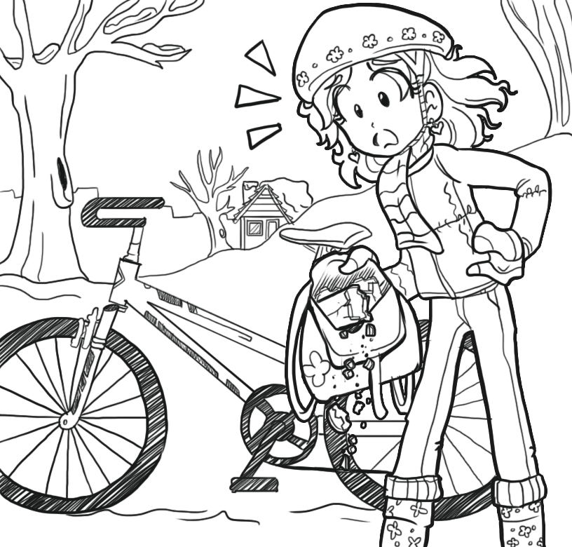 dork diaries 8 coloring pages - photo#22