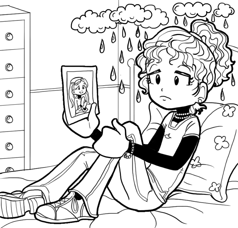 Dork Diaries - Free Colouring Pages