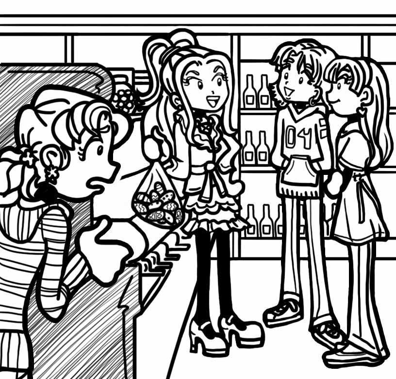 I DONT KNOW CHLOE AND ZOEY AT ALL Dork Diaries