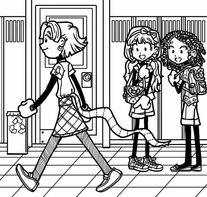 FAN STORY ABOUT ZOEY EMBARRASSING HERSELF – Dork Diaries