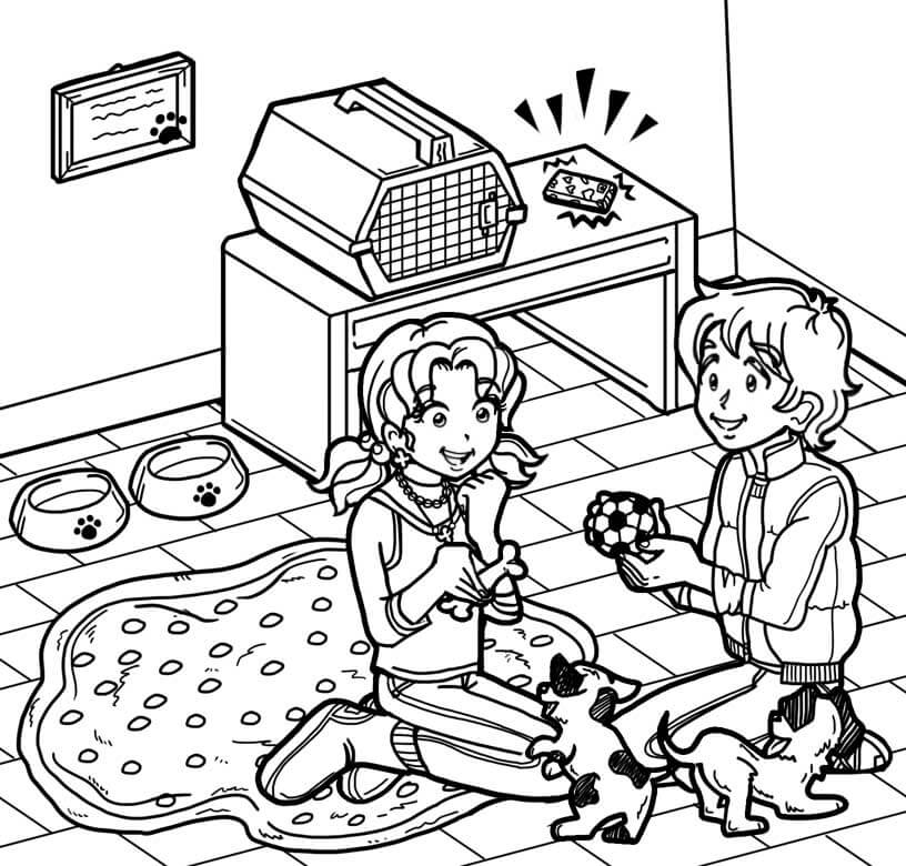 dork diaries 8 coloring pages - photo#9