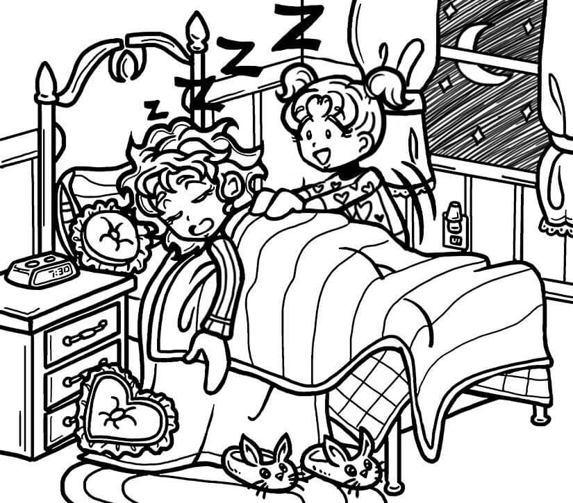 dork diaries 8 coloring pages - photo#28