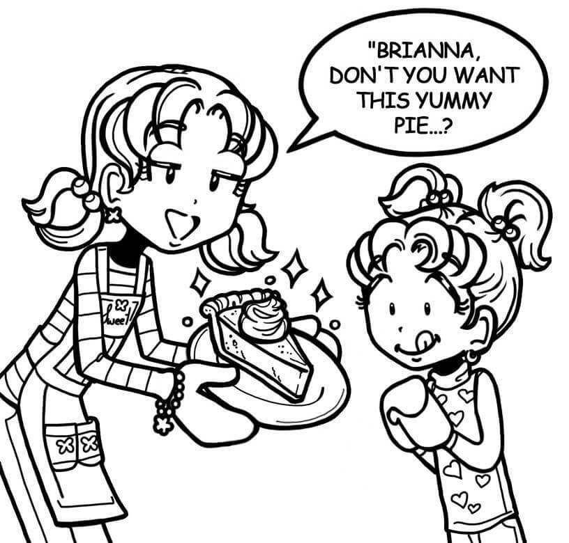 dork diaries 8 coloring pages - photo#24