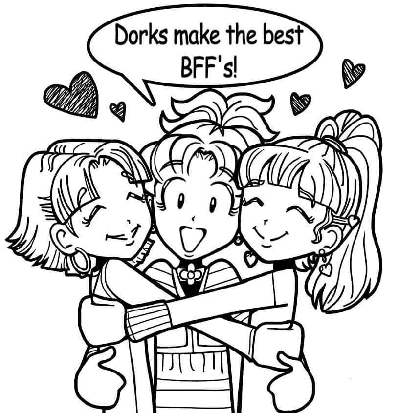 dork diaries 8 coloring pages - photo#18